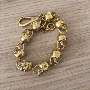 Skull link bracelet Alexander McQueen